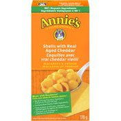 Annie's Canadian Shells with Real Aged Cheddar Mac & Cheese Macaroni & Cheese Natural