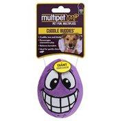 Multipet Dog Toy, Cuddle Buddies, Egg Noggins