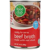 Food Club Ready To Serve Beef Broth
