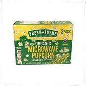 Fresh Thyme Organic Butter Microwave Popcorn