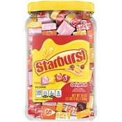 Starburst Original Fruit Chews Chewy Candy Jar