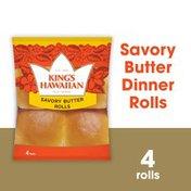 King's Hawaiian Savory Butter Rolls 4PK