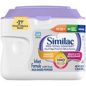Similac Infant Formula, Milk Based Powder with Iron, 0-12 Months