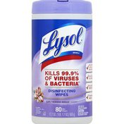 Lysol Disinfecting Wipes, Early Morning Breeze Scent