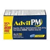 Advil PM Caplets - 50 CT