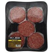 Morans Beef, Ground, 80/20, 100% Angus, Patties