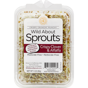 Wild About Sprouts Sprouts, Crispy Clover & Alfalfa