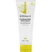 DERMA E Detox Scrub, Purifying Daily