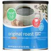Food Club Medium Original Roast 100% Ground Coffee