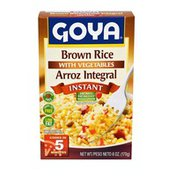 Goya Instant Brown Rice