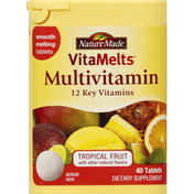 Nature Made Multivitamin, Tablets, Tropical Fruit