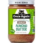 Once Again Almond Butter, Crunchy, Organic