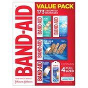 Band-Aid Brand Value Pack Assorted Bandages