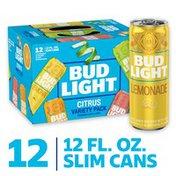 Bud Light Peels Beer Variety Pack, Lime, Lemonade & Orange, Cans