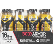 BODYARMOR Sports Drink, Tropical Punch, Superior Hydration, 12 Pack