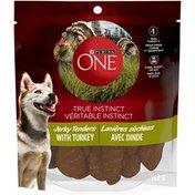 Purina True Instinct Jerky Tenders with Turkey Dog Treats