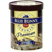 Blue Bunny Premium Ice Cream, Homemade Turtle Sundae