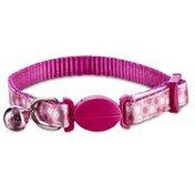 Bond & Co Clear Fun Dots Pink Breakaway Kitten Collar