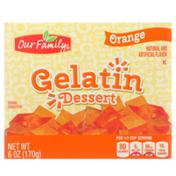 Our Family Orange Gelatin Dessert