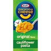 Kraft Original Macaroni & Cheese Dinner with Cauliflower Added to the Pasta