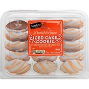 Signature Select Cookie, Iced Cake, Pumpkin Spice, Seasons