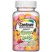Centrum Flavor Burst Tropical Fruit Adult Chews Multivitamin/Multimineral Supplement