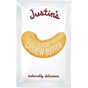 Justin's Classic Cashew Butter Squeeze Packs