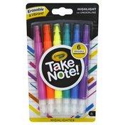 Crayola Highlighters, Erasable