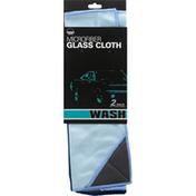 Zwipes Auto Glass Cloth, Microfiber, Wash