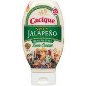 Cacique Jalapeño Mexican-Style Sour Cream