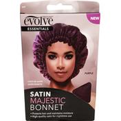 Evolve Bonnet, Satin, Majestic, Essentials, Purple