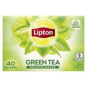 Lipton Green Tea Bags Decaffeinated