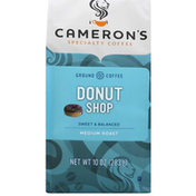 Camerons Coffee, Ground, Medium Roast, Donut Shop