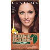 Clairol Natural Instincts, 4R / 30 Rosewood Dark Auburn Brown, Semi-Permanent Hair Color, 1 Kit Female Hair Color