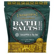 Soaptopia Bath Salts, Eucalyptus & Tea Tree