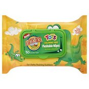 Earth's Best Wipes, Flushable,