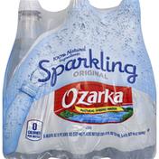 Ozarka Water, Natural Spring, Sparkling Original