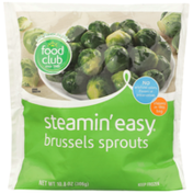 Food Club Steamin' Easy, Brussels Sprouts