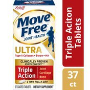 Movefree® Ultra Triple Action - Joint Health Supplement with Type II Collagen, Boron and HA