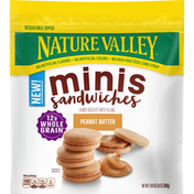 Nature Valley Sandwiches, Peanut Butter, Minis