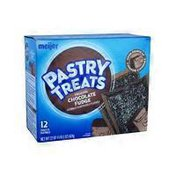Meijer Frosted Chocolate Fudge Flavored Pastry Treats