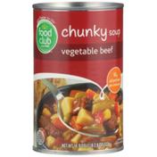 Food Club Vegetable Beef Chunky Soup