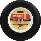 Marathon Wheelbarrow Tire, Universal Fit, Flat-Free