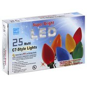 Everstar Bulbs, LED, C7-Style Lights, Multi