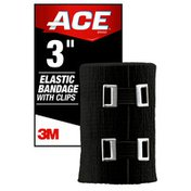 Ace ACE™ Brand Elastic Bandage with Metal Clips, 3 in.