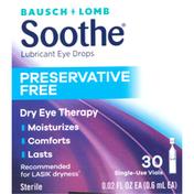 Bausch + Lomb Eye Drops, Lubricant