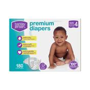 Berkley Jensen Premium Baby Diapers, Size 4