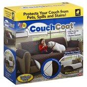 Bulb Head Couch Coat, Chocolate Brown, Neutral Beige