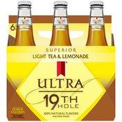 Michelob Ultra 19 Th Hole Light Tea & Lemonade 12 fl oz Malt Beverage