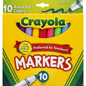 Crayola Markers Assorted Colors 10